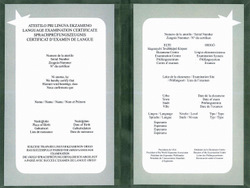 Certyfikat językowy